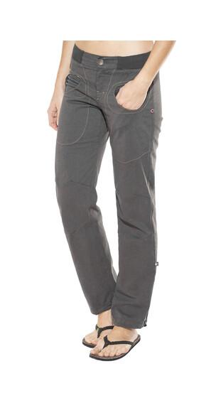E9 Onda Slim Art - Pantalon Femme - gris